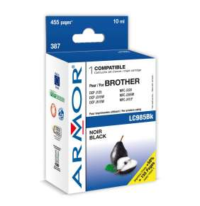 Armor ink-jet pro Brother DCP J125,10ml(LC985BK)Bk