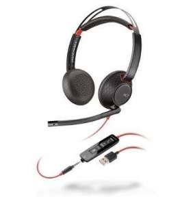 Plantronics BLACKWIRE C5220 headset Stereo, USB-A, 1 x 3.5 mm miniJack