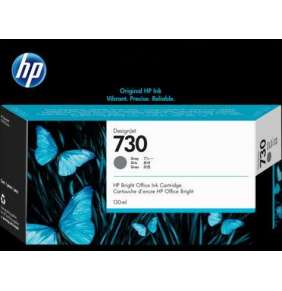 HP 730 130-ml Gray DesignJet Ink Cartridge