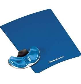 Fellowes Podložka pod myš a zápěstí Palm Health-V modrá