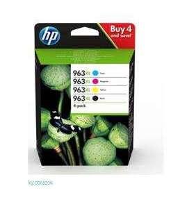 HP 963XL High Yield C/M/Y/K Original Ink Cartridge 4-Pack