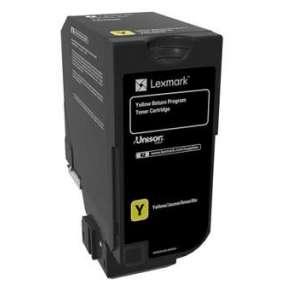 CS720, CS725, CX725 Yellow Return Programme Toner Cartridge - 3 000 stran