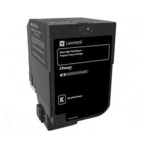 CS720, CS725 Black High Yield Return Programme Toner Cartridge - 20 000 stran