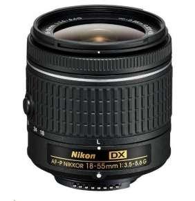 NIKON 18-55mm f/3.5–5.6G AF-P DX
