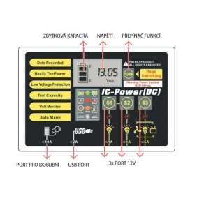 MHPower MSD33-12 Smart akumulátor VRLA-GEL 12V/33A