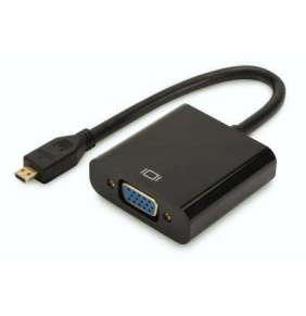 Digitus HDMI D ( Micro-HDMI ) na VGA Převodník, audio