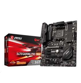 MSI MB Sc AM4 X470 GAMING PRO MAX, 4xDDR4, VGA