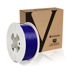VERBATIM 3D Printer Filament PLA 1,75mm ,335m, 1kg blue (OLD PN 55269)