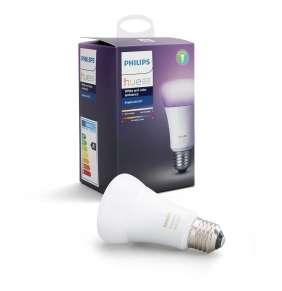 PHILIPS Hue White and Color Ambience, žárovka 10W E27 A60 DIM