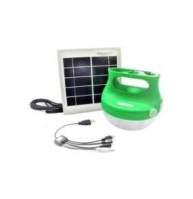 Lampa přenosná bateriová se solárním panelem Mobiy