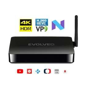 EVOLVEO MultiMedia Box M4, Quad Core multimediální centrum