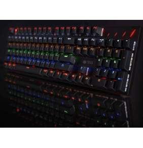 TRACER klávesnice GAMEZONE Axx, herní, mechanická, drátová, USB, podsvícená