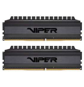 PATRIOT Viper 4 Blackout Series 16GB DDR4 3200 MHz / DIMM / CL16 / Heat shield / KIT 2x 8GB