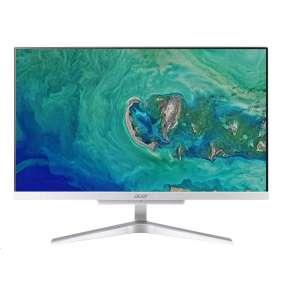 """ACER PC AiO Aspire C22-865 - i3-8130U@2.2GHz,IPS, 21.5"""" FHD,4GB,1TBHDD54,noDVD,Intel HD 620,USB3.1,kl+mys,stříbrný"""