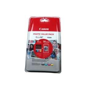 Náplň CANON CLI-551XL BK/C/M/Y PACK MG 5450/6350, iP 7250, MX 925 + PP201 10x15