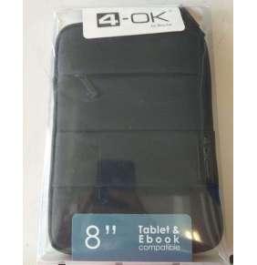 Puzdro 4-OK NiLo pre Váš tablet s uhlopriečkou do 8, Nylon Black