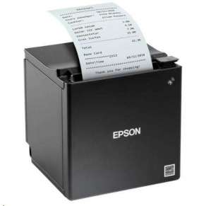 Epson TM-m30, USB, Ethernet, 80mm, 8 dots/mm (203 dpi), ePOS, black