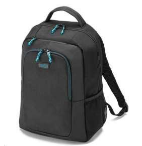 """DICOTA Batoh pro notebook Spin Backpack/ 14-15,6""""/ černý"""