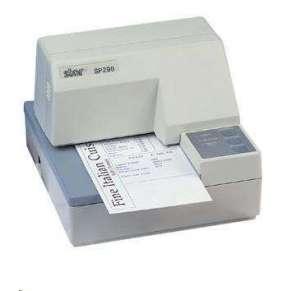 STAR SP298 MD sériová/odtrhávací lišta/bílá  + Síťový zdroj Star Micronics PS60A-24B