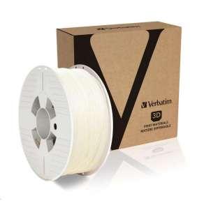VERBATIM 3D Printer Filament PLA 1,75mm 1kg natural transparent (OLD PN 55274)