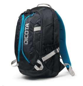 """DICOTA Batoh pro notebook Backpack Active/ 14-15,6""""/ černo-modrý"""