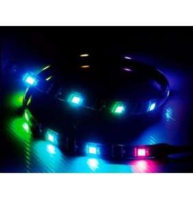 AKASA LED pásek Vegas MBA / AK-LD07-60RB / 15x LED / 7x magnet / 60cm / 5V /