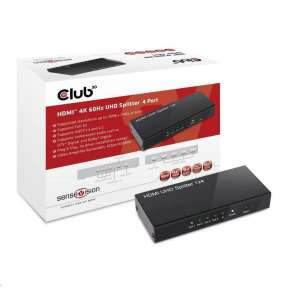 Club3D Video splitter 1:4 HDMI 2.0 4K60Hz UHD