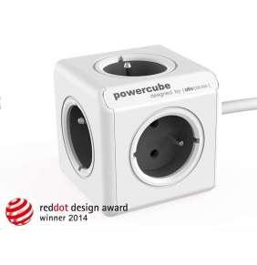 Allocacoc PowerCube Extended Grey (1,5m)