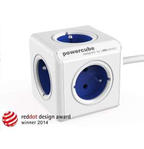 Allocacoc PowerCube Extended Blue (1,5m)