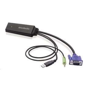 AVERMEDIA Adaptér VGA -  HDMI ET110 (převodník, video converter)