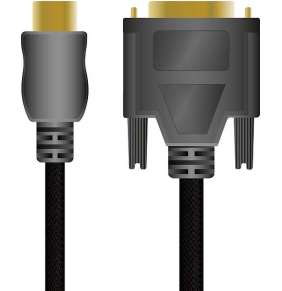 SPEED LINK kabel SL-4406-SBK-01 HDMI to DVI High End Cable for PS3