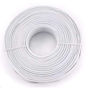 GEMBIRD Kabel telefonní 4C, klubko 100m, bílý