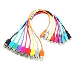4World Kábel USB 2.0 MICRO 5pin, AM / B MICRO prenos dát/nabíjanie 1.0m žlutý