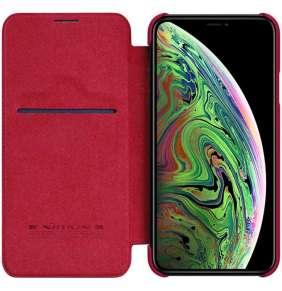Nillkin Qin Book Pouzdro pro iPhone 11 Pro Max Red