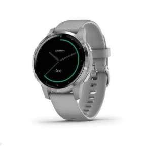Garmin monitorovací náramek a hodinky vívoactive4S Silver/Gray Band