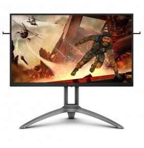 """AOC MT VA LCD WLED 27"""" AG273QX - VA panel, 165Hz, 1ms, 2560x1440, 2xHDMI, 2xDP, USB, repro, pivot"""