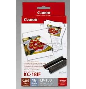 Canon KC18IF nálepka Canon KC18IF nálepka 54x86 18ks do termosublimační tiskárny