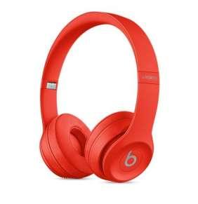Beats Solo3 Wireless On-Ear Headphones - Red