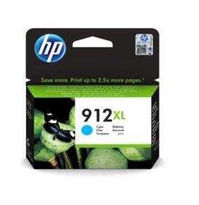 HP 912XL ink. azurová 3YL81AE