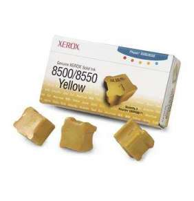 Xerox-Genuine  Solid Ink 8500/8550 Yellow (3 sticks)