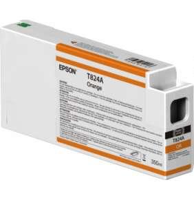 Epson Orange T824A00 UltraChrome HDX 350ml