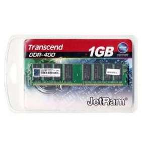 Transcend paměť 1GB DDR 400MHz U-DIMM (JetRam) CL3 2Rx8