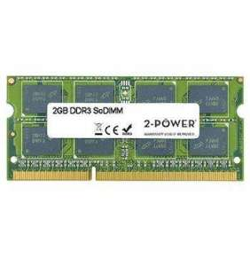 2-Power 2GB MultiSpeed 1066/1333/1600 MHz DDR3 SoDIMM 1Rx8 (1.5V / 1.35V) (DOŽIVOTNÍ ZÁRUKA)