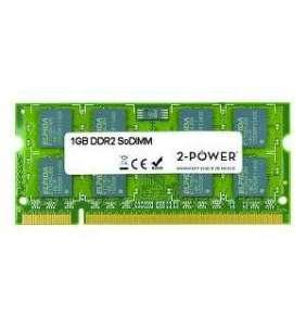 2-Power 1GB PC2-6400S 800MHz DDR2 CL6 SoDIMM 1Rx8 (DOŽIVOTNÍ ZÁRUKA)