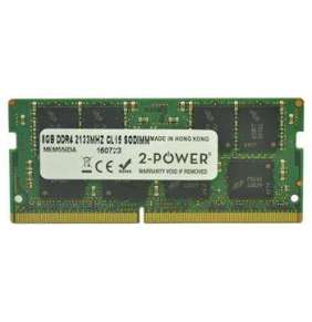 2-Power 8GB PC4-17000S 2133MHz DDR4 CL15 Non-ECC SoDIMM 2Rx8 (DOŽIVOTNÍ ZÁRUKA)