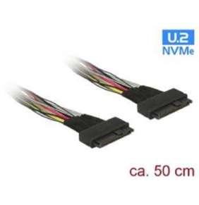 Delock Cable U.2 SFF-8639 female   U.2 SFF-8639 female 50 cm
