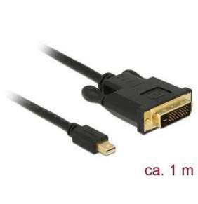 Delock Kabel mini Displayport 1.1 samec   DVI 24+1 samec 1 m