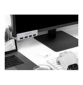 Delock Externí USB 3.0 Hub se 4 porty s pojistným šroubem