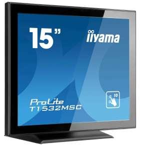Monitor IIyama T1532MSC-B5AG 15'', TN touchscreen, 1024x768, HDMI/DP, speakers