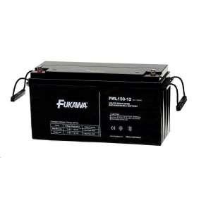 Baterie - FUKAWA FWL 150-12 (12V/150Ah - M8), životnost 10let